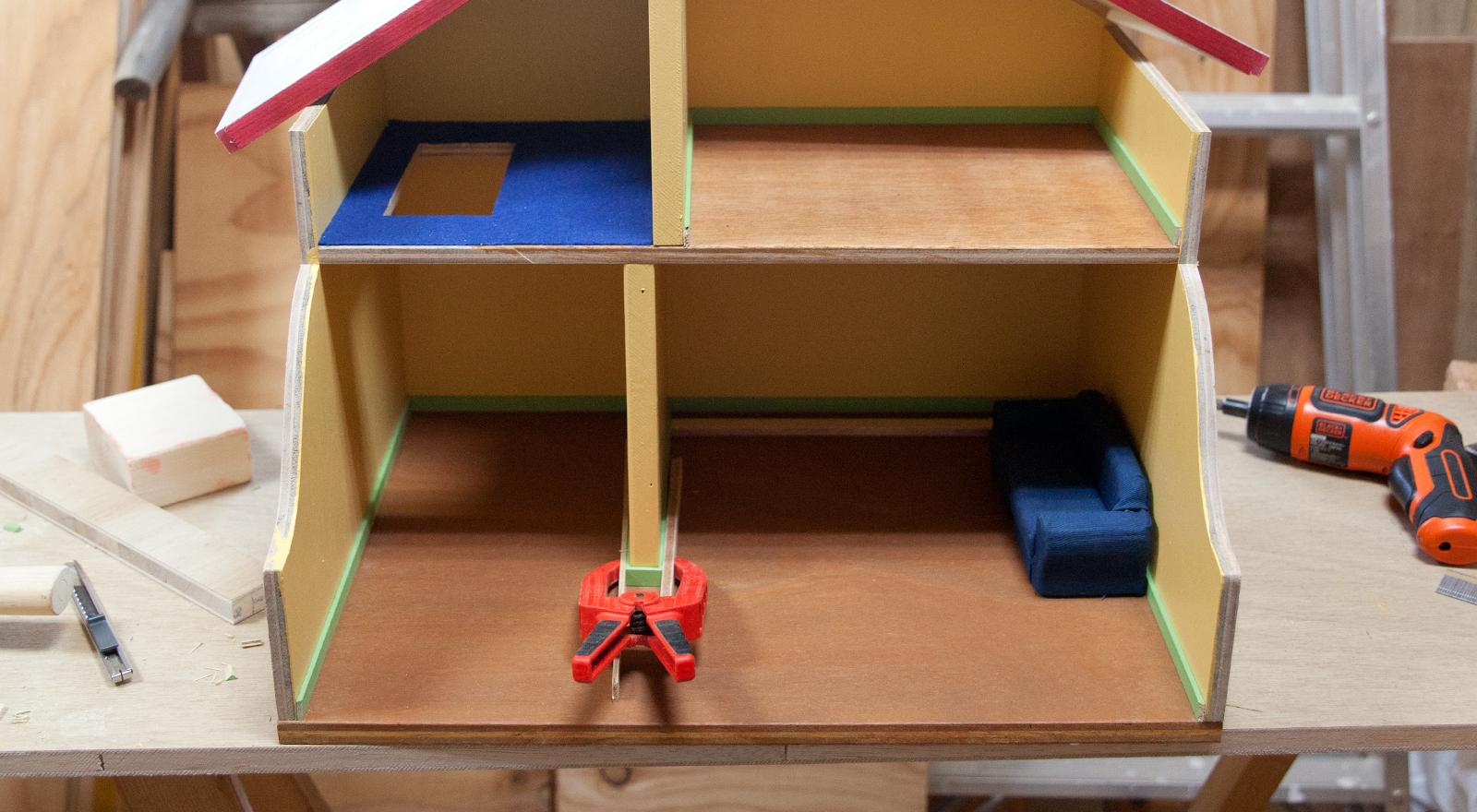 メイキング バムケロドールハウスの作り方とか細かいところまとめ
