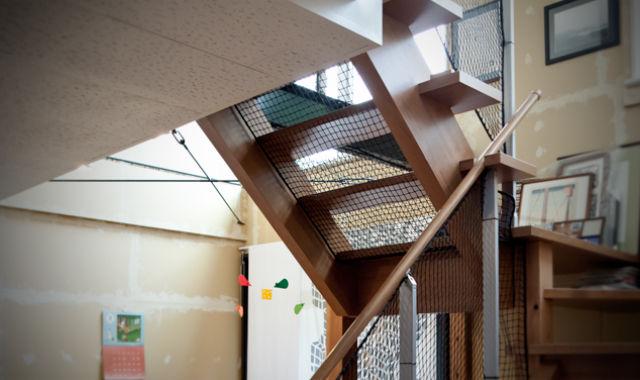 階段 転落防止ネット メリット