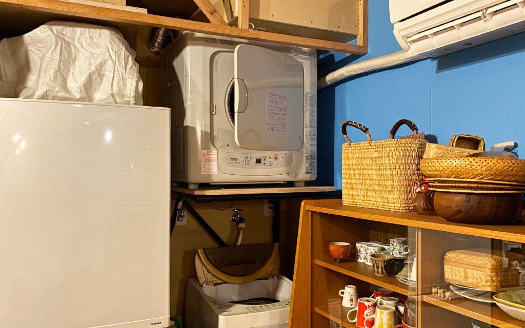 ガス乾燥機設置!DIYで。